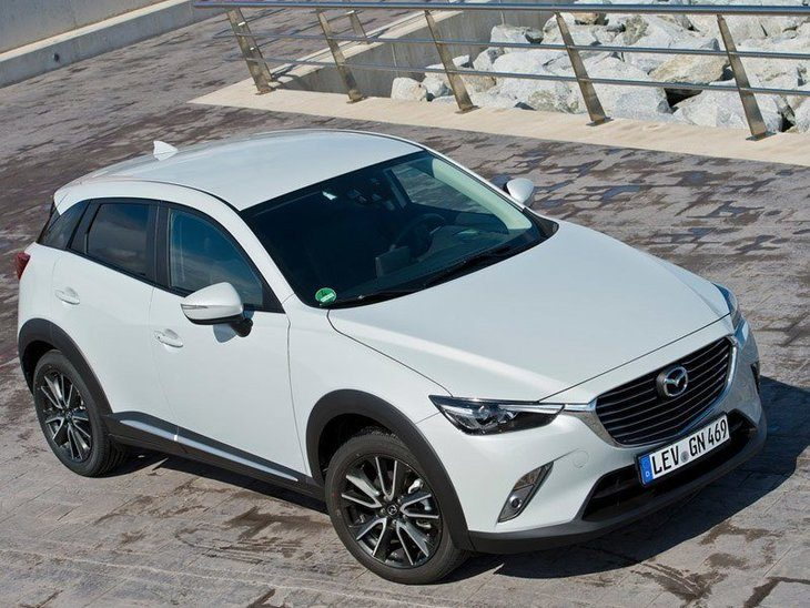Mazda CX 3 Exterior White Top