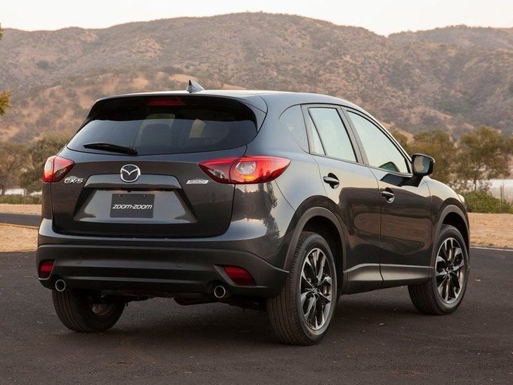 Mazda CX 5 Exterior Grey Back