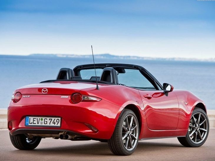 Mazda MX 5 New Model Red Exterior Back