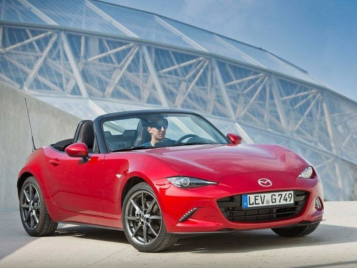 Mazda MX 5 New Model Red Exterior Front