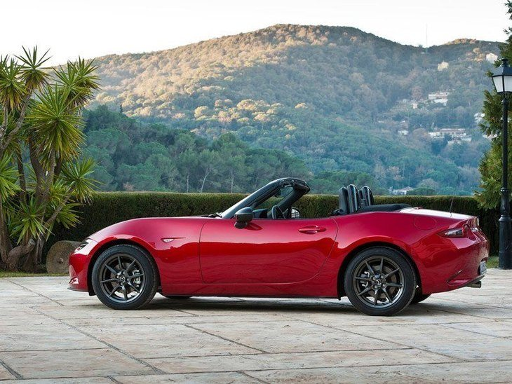 Mazda MX 5 New Model Red Exterior Side 2