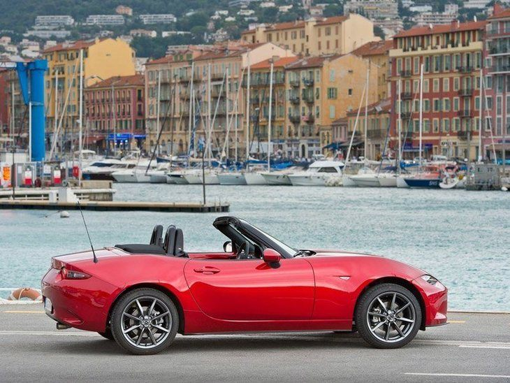 Mazda MX 5 New Model Red Exterior Side