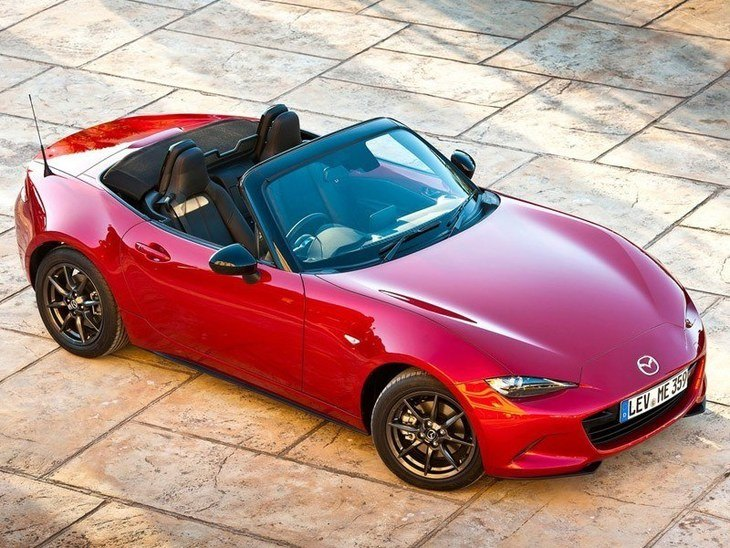 Mazda MX 5 New Model Red Exterior Top