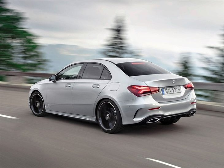 mercedes benz a class saloon a180d amg line executive auto car leasing nationwide vehicle. Black Bedroom Furniture Sets. Home Design Ideas