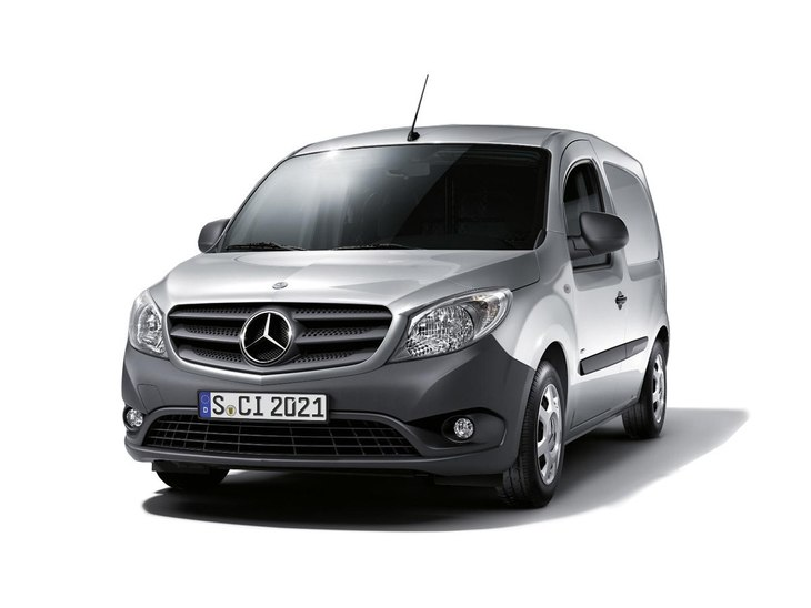 Mercedes Benz Citan Grey Front