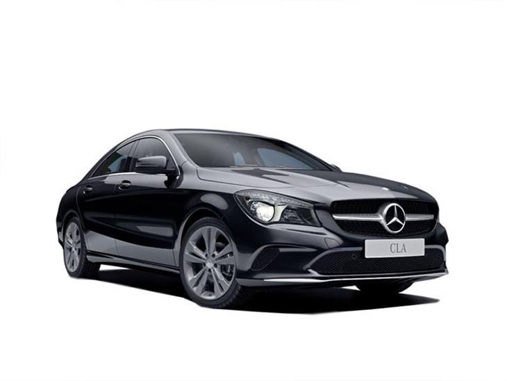 mercedes benz cla coupe 200d whiteart car leasing nationwide vehicle contracts. Black Bedroom Furniture Sets. Home Design Ideas