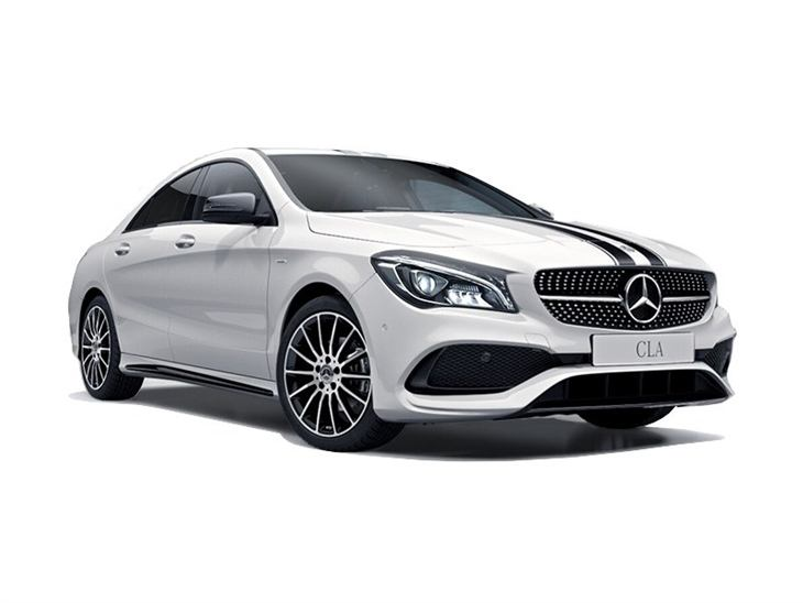 mercedes benz cla coupe 200d whiteart car leasing. Black Bedroom Furniture Sets. Home Design Ideas