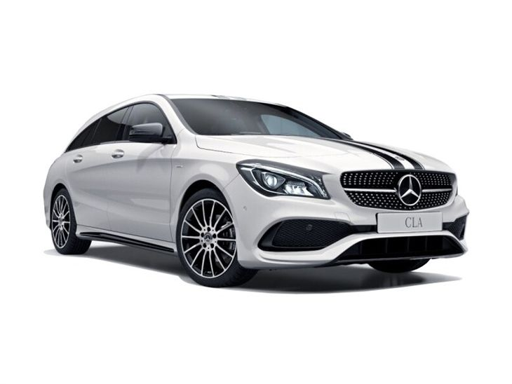 mercedes benz cla shooting brake 220d whiteart auto. Black Bedroom Furniture Sets. Home Design Ideas