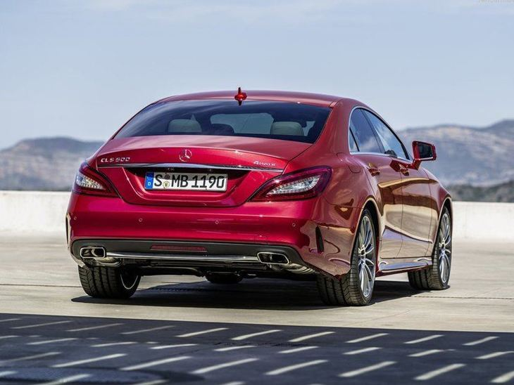 Mercedes Benz CLS Class Exterior Red Back
