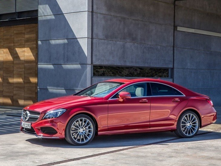 Mercedes Benz CLS Class Exterior Red Front