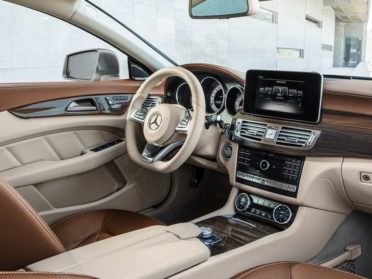 Mercedes Benz CLS Shooting Brake Interior