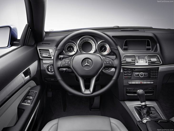 Mercedes Benz E Class Coupe Interior