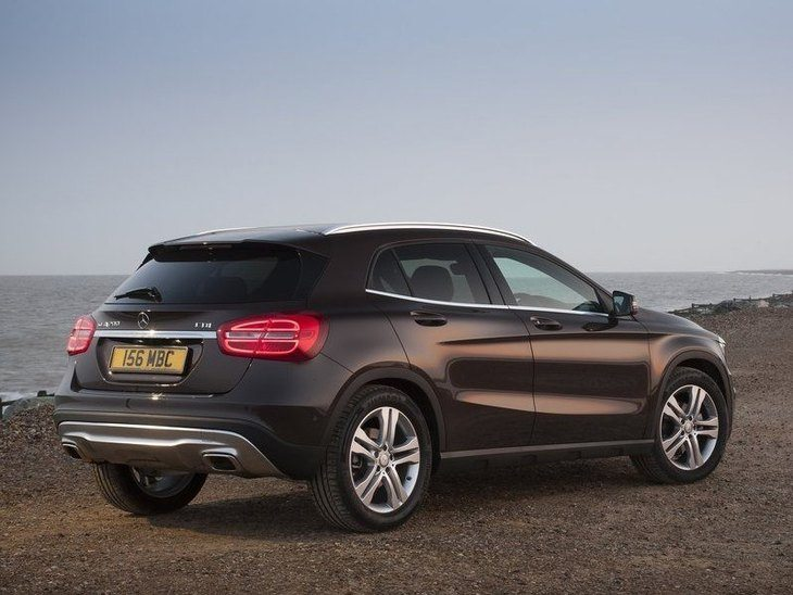 Mercedes Benz GLA Grey Exterior Back
