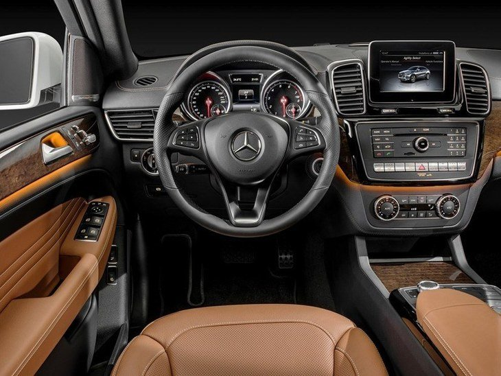 Mercedes Benz GLE Coupe Interior