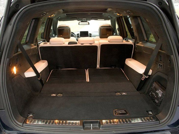 Mercedes Benz GLS Interior Back