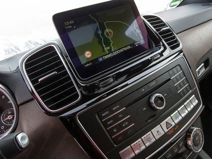 Mercedes Benz GLS Interior detail