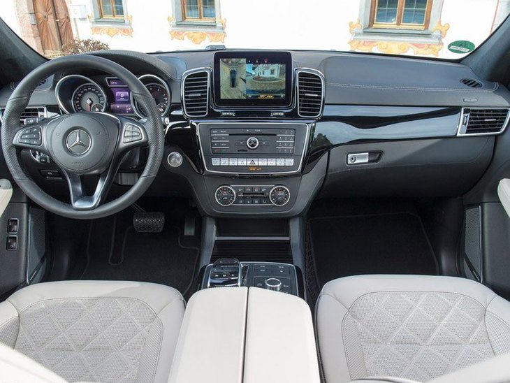 Mercedes Benz GLS Interior Front