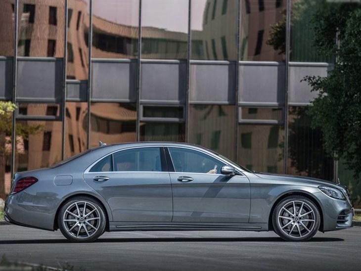 Mercedes benz s class saloon s350d l amg line executive for Mercedes benz s class lease
