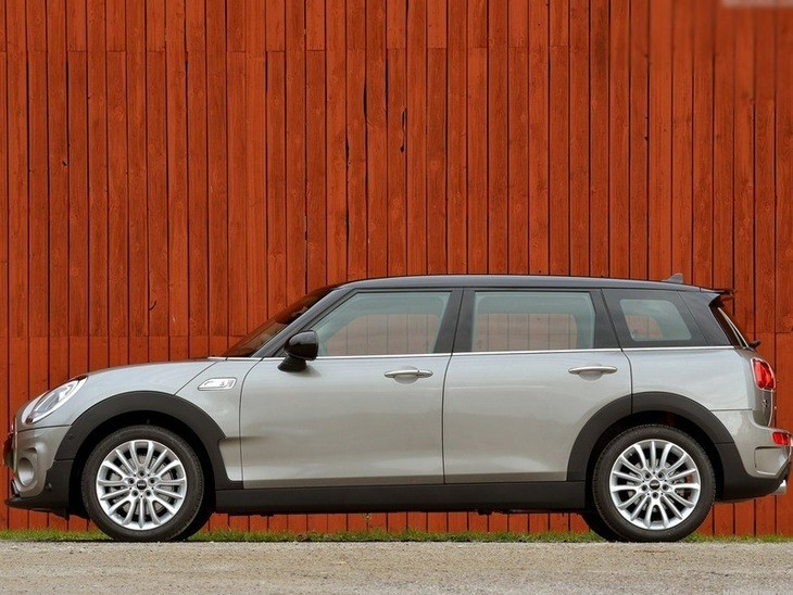 Mini Clubman Grey Exterior Side