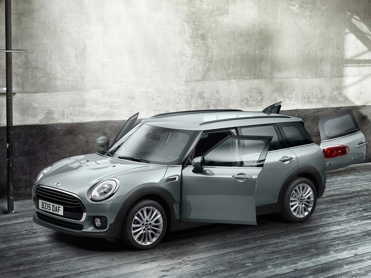 Mini Clubman Grey Exterior Top