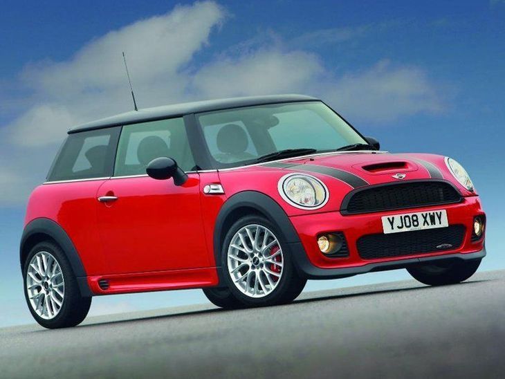 Mini Hatchback 3 Door Red Exterior Side