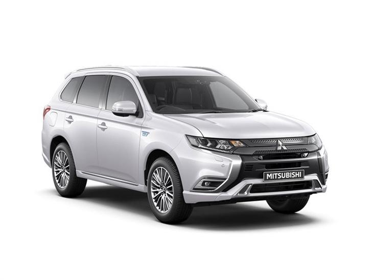 Inteligentny Mitsubishi Outlander 2.4 PHEV 4hs Auto | Car Leasing | Nationwide XP96