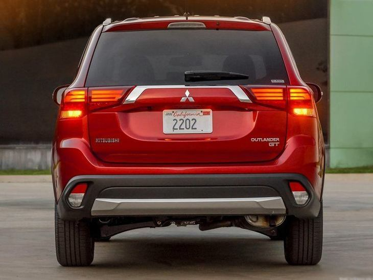 Mitsubishi Outlander New Model Red Exterior Back 2