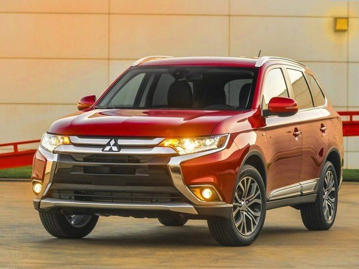 Mitsubishi Outlander New Model Red Exterior Front