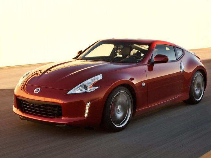 Nissan 370Z Red Exterior Front