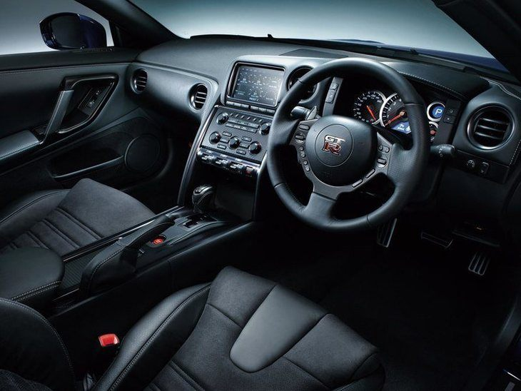 Nissan GT-R Black Interior