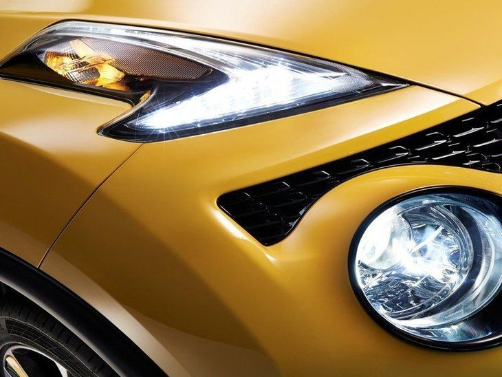 Nissan Juke Yellow Exterior Light