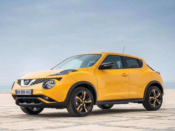Nissan Juke Yellow Exterior Side