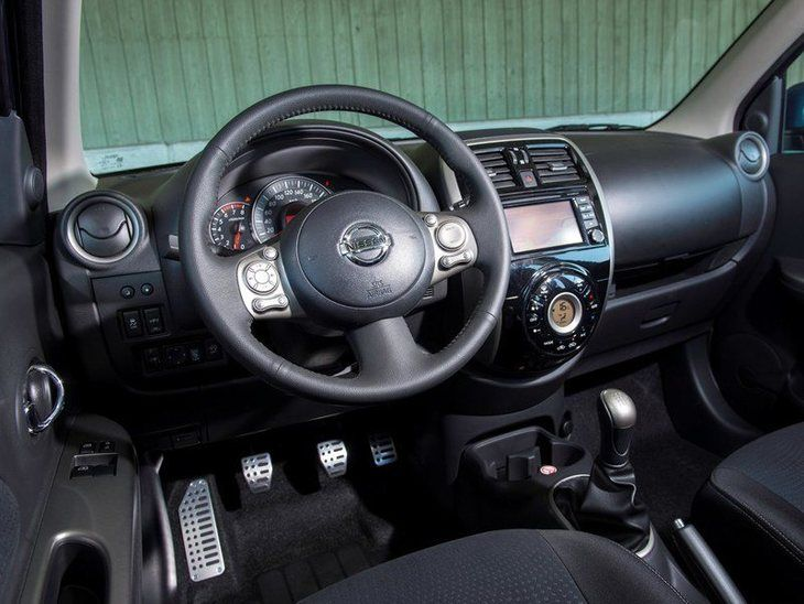 Nissan Micra Black Interior