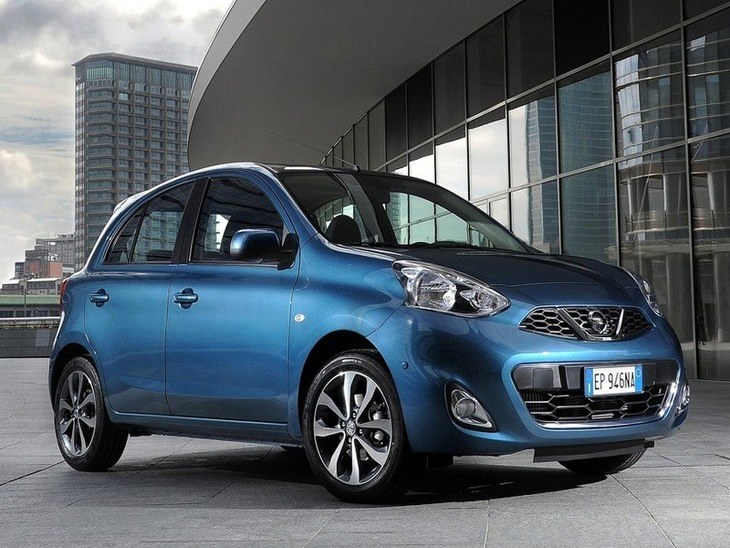 Nissan Micra Blue Exterior Side