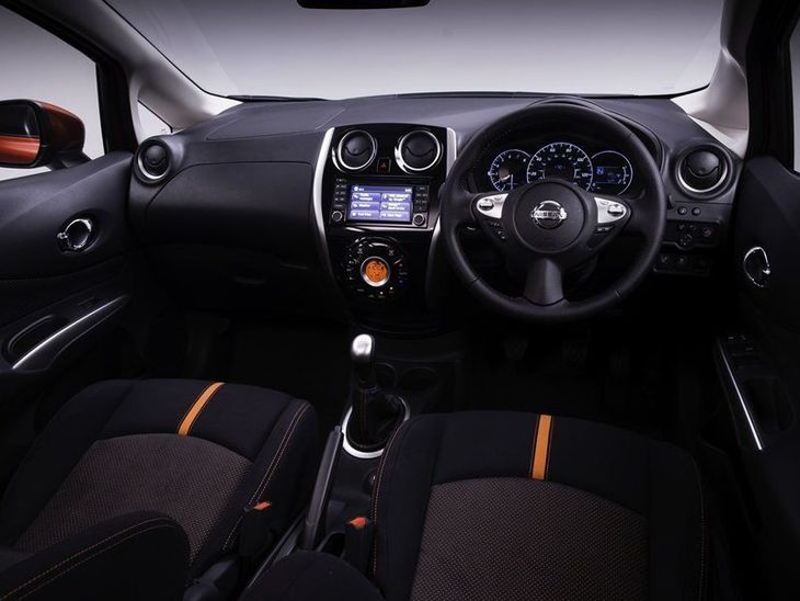 Nissan Note Black Interior