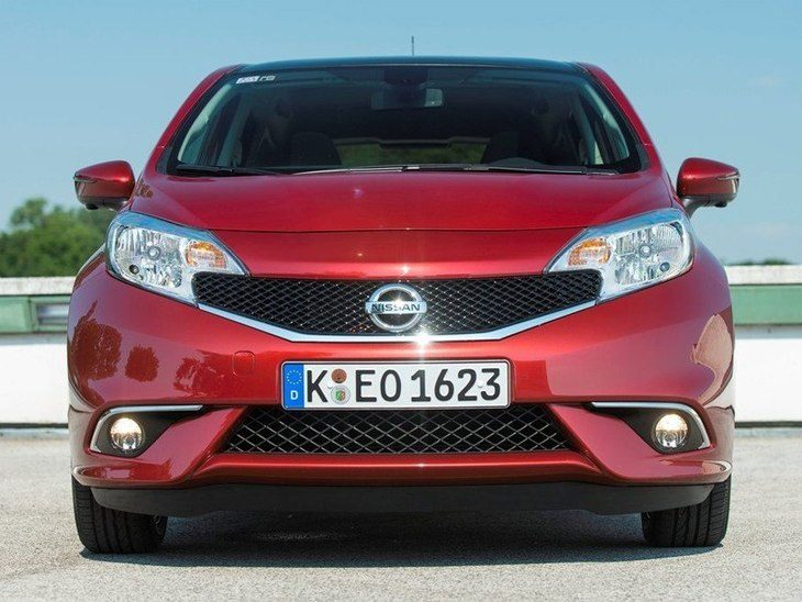 Nissan Note Red Exterior Front2