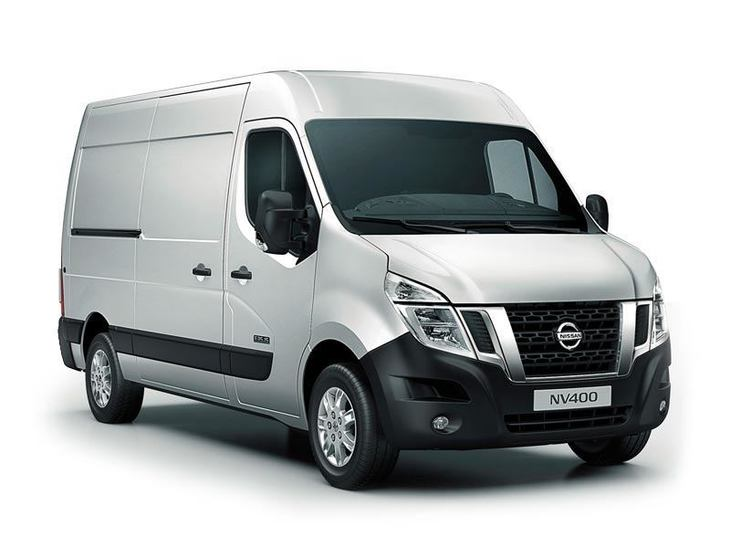Nissan NV400 Silver Front