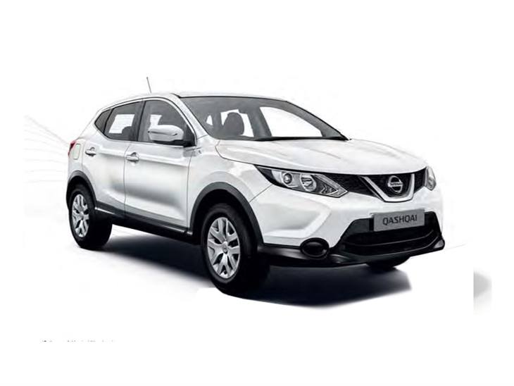 nissan qashqai 1 5 dci visia contract hire and car lease. Black Bedroom Furniture Sets. Home Design Ideas