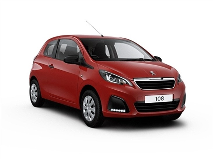 peugeot 108 1 0 access 3 door car leasing nationwide vehicle contracts. Black Bedroom Furniture Sets. Home Design Ideas