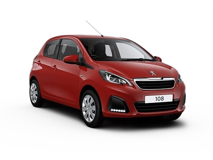 peugeot 108 1 0 active 5 door car leasing nationwide vehicle contracts. Black Bedroom Furniture Sets. Home Design Ideas
