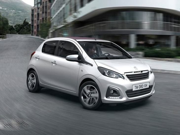 Peugeot 108 White Exterior Front 2