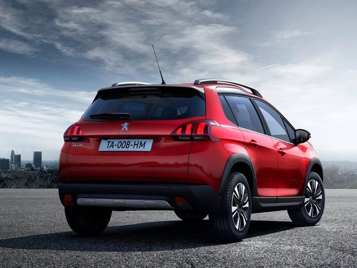 Peugeot 2008 New Model Red Exterior Back