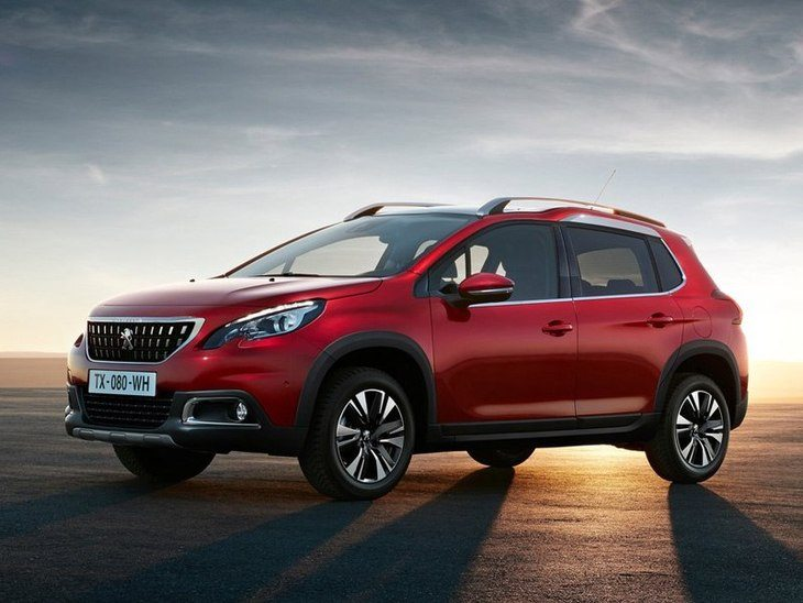 Peugeot 2008 New Model Red Exterior Front 2