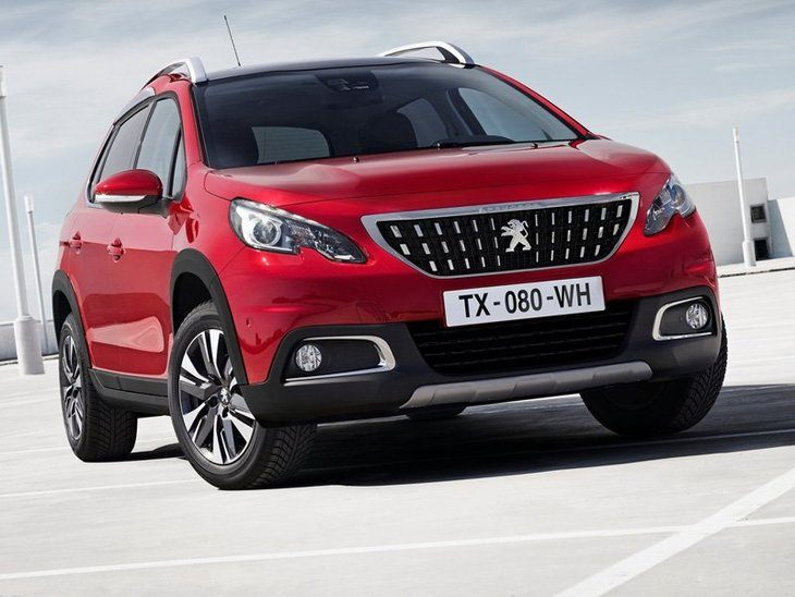 Peugeot 2008 New Model Red Exterior Front