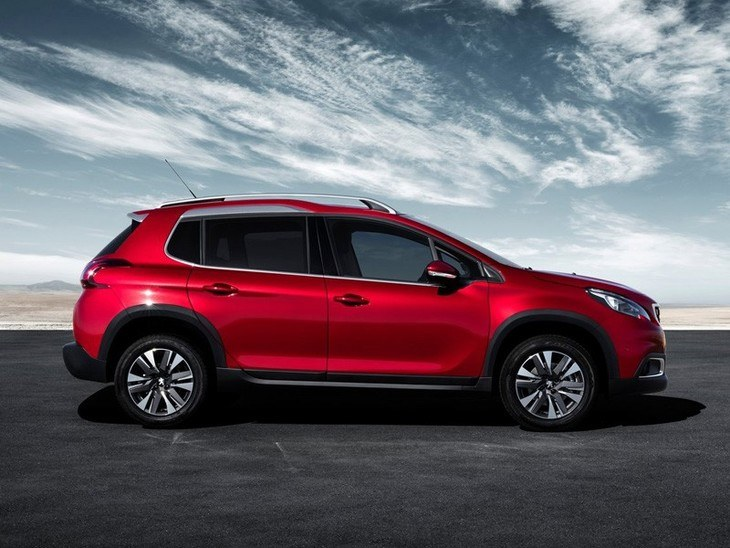 Peugeot 2008 New Model Red Exterior side