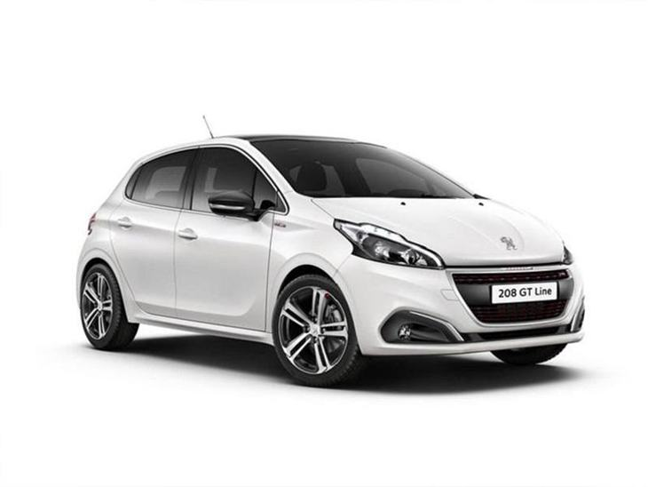 peugeot 208 5 door 1.2 puretech 110 gt line | car leasing