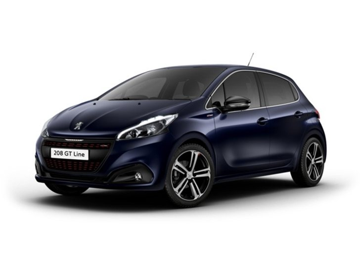 peugeot 208 5 door 1 6 bluehdi 120 gt line car leasing nationwide vehicle contracts. Black Bedroom Furniture Sets. Home Design Ideas