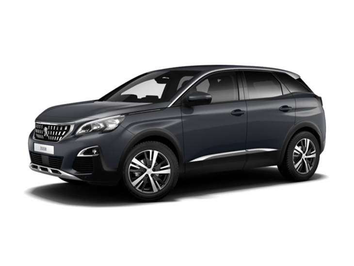 peugeot 3008 crossover 1 6 puretech 180 allure eat8 car leasing nationwide vehicle contracts. Black Bedroom Furniture Sets. Home Design Ideas