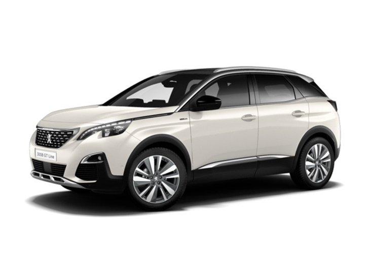 Peugeot 3008 Crossover 1.2 Puretech GT Line Premium | Car Leasing ...