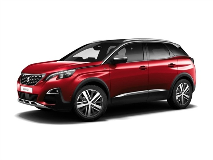 peugeot 3008 crossover 2 0 bluehdi 180 gt 5dr eat8 car leasing nationwide vehicle contracts. Black Bedroom Furniture Sets. Home Design Ideas